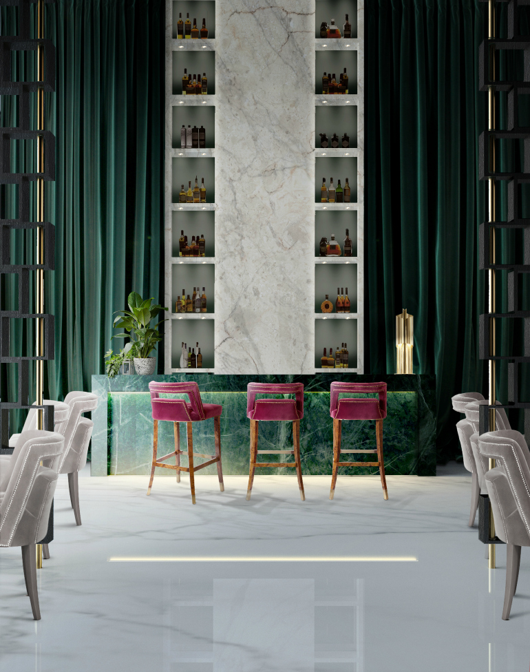 bar chair NAJ, A Trendy & Self-Assured Bar Chair Hotel brabbu project 1 HR