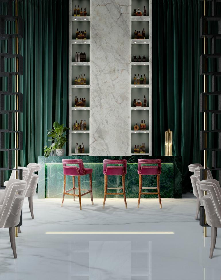 bar chair NAJ, A Trendy & Self-Assured Bar Chair Hotel brabbu project 1 HR