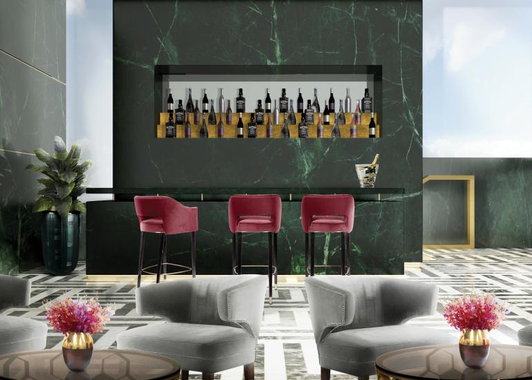 bar chair NAJ, A Trendy & Self-Assured Bar Chair Hotel brabbu project 13 HR