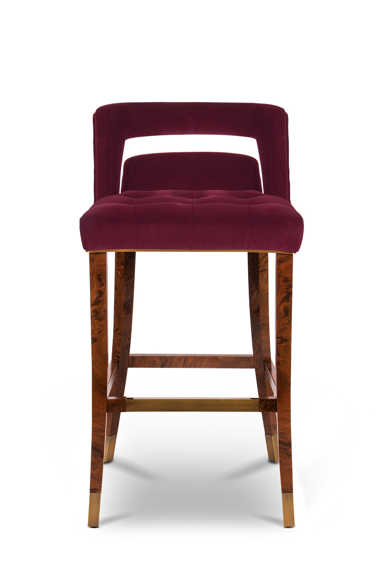 bar chair NAJ, A Trendy & Self-Assured Bar Chair naj bar chair 1 HR