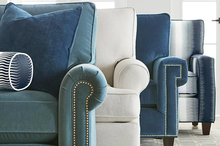 3 Tips On Choosing The Right Accent Chairs Accent Chairs 3 Tips On Choosing The Right Accent Chairs bassett custom upholstery medium sofa custom upholstery 4000 72f 6 1