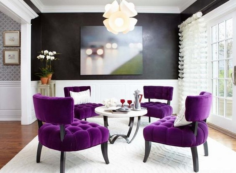 Incredible Modern Chairs With Ultra Violet trends (Pantone Color of the Year) ultra violet trends Incredible Modern Chairs With Ultra Violet trends 15fe1f91b49f0e1fa3bd3d06bde70ae1