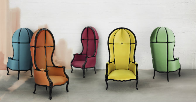 10 Amazing Colorful Chairs for A Chic Home