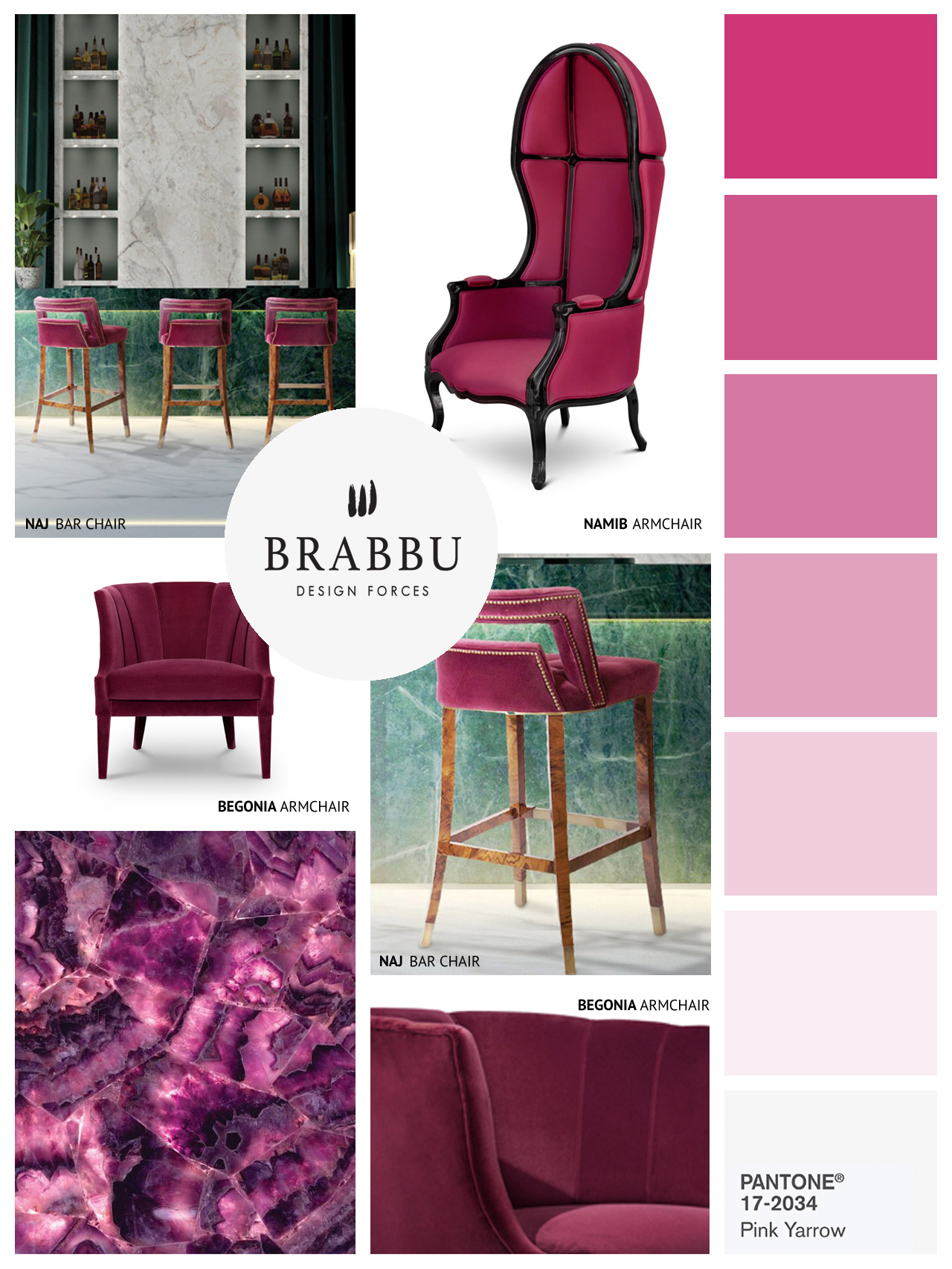 10 Amazing Colorful Chairs for A Chic Home 10 Amazing Colorful Chairs for A Chic Home moodboard by brabbu 6 HR