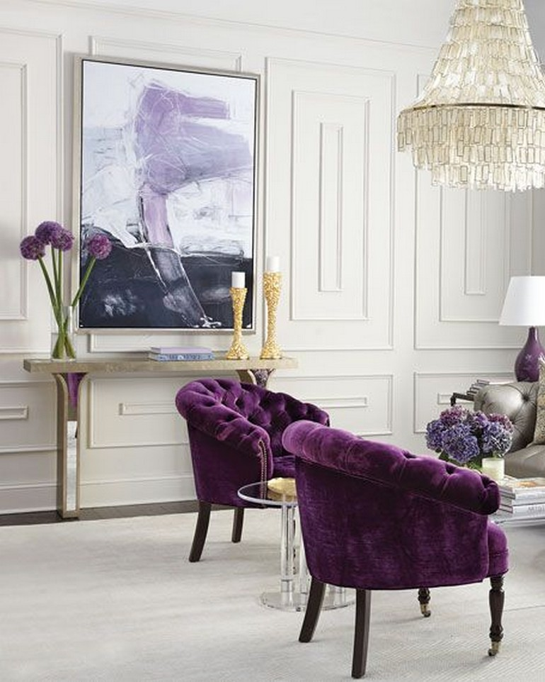 incredible chairs Incredible Chairs for Spring Season purple2