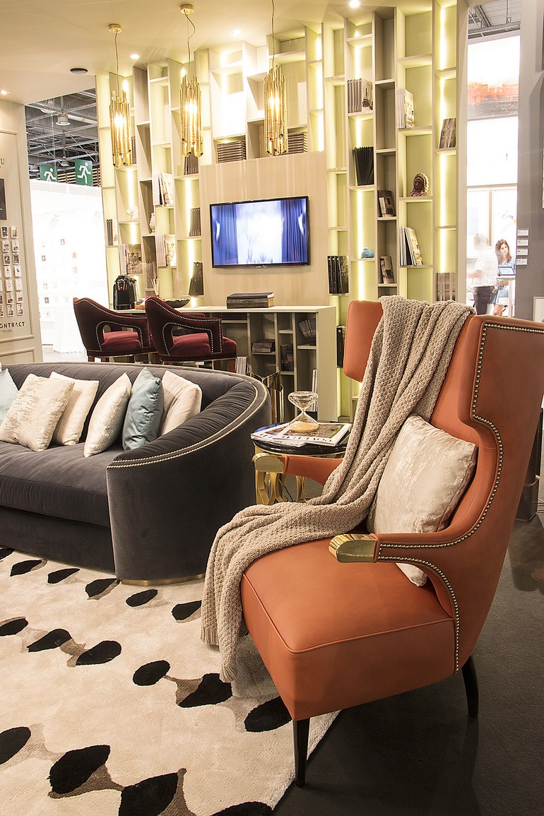 Rugs meet Incredible Modern Chairs  incredible modern chairs Rugs meet Incredible Modern Chairs brabbu maison objet september 2016 11 HR