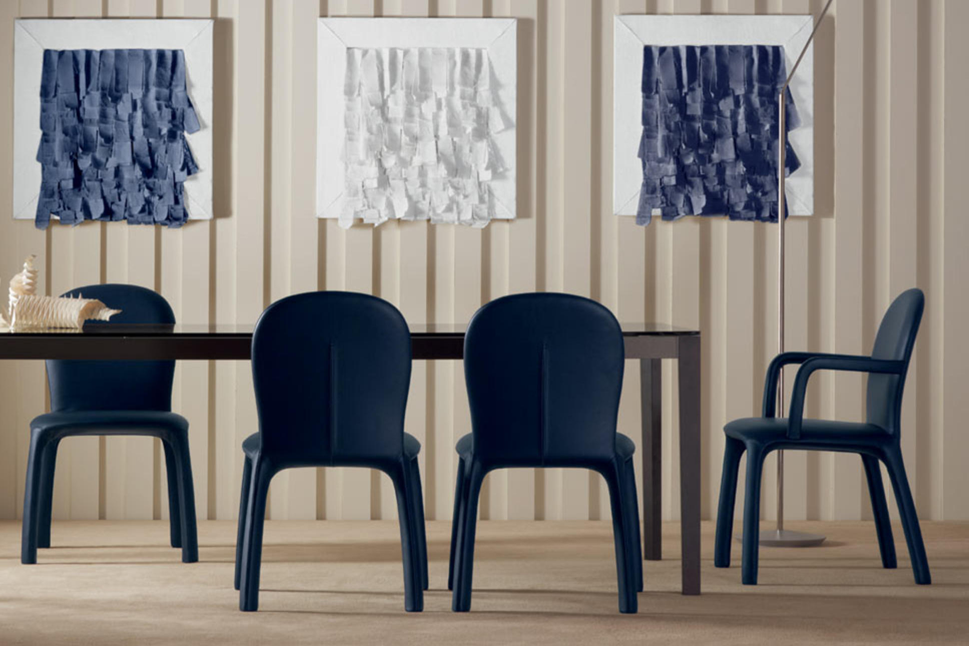 Top 10 Modern Dining Chairs to Place around Any Dining Table by Poltrona Frau dining chairs Top 10 Dining Chairs to Place around Any Dining Table Top 10 Modern Dining Chairs to Place around Any Dining Table by Poltrona Frau