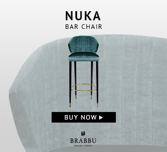 Nuka Barchair BRABBU Modern Chairs The Best Modern Chairs You Can Take From Maison et Objet 2018 bb nuka barchair