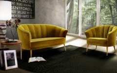 Upholstered Living Room Chairs