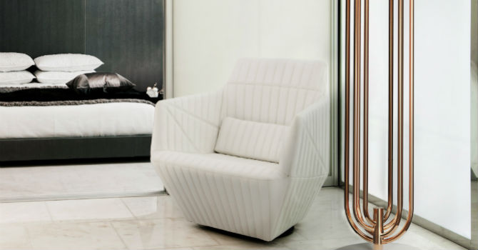 contemporary chairs for bedroom 15 beautiful modern bedrooms with a white chair 14960