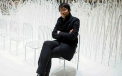 Nendo Studio Creates Optical Illusion with a Black Chair #diningarea #modernchairs #chairdesign dining chairs, dining room chairs, contemporary dining chairs | See more at http://modernchairs.eu/2016/03/16/nendo-studio-creates-optical-illusion-with-black-chair black chair Nendo Studio Creates Optical Illusion with a Black Chair Nendo Studio Creates Optical Illusion with Dining Room Furniture cover 240x150
