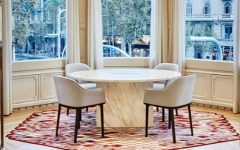 Nani Marquina Shows How To Set Contemporary Rugs With Modern Chairs