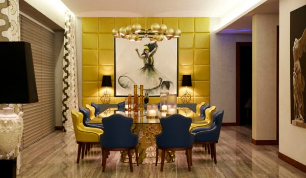 dining chairs 9 Striking Dining Chairs That Will Make A Statement In Any Décor brabbu emirates hills villa by nikki b interiors dubai 1 600x350