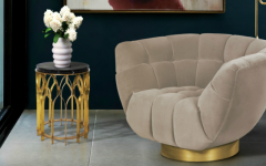 "living room chairs Why We Love Pantone's Color ""Hazelnut"" For Living Room Chairs brabbu ambience press 70 HR 240x150"