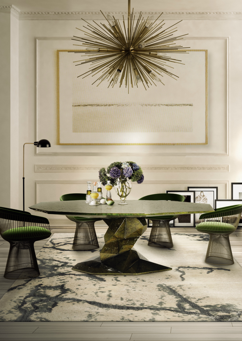How To Match Dining Chairs With A Designer Table dining chairs How To Match Dining Chairs With A Designer Table boca do lobo bonsai