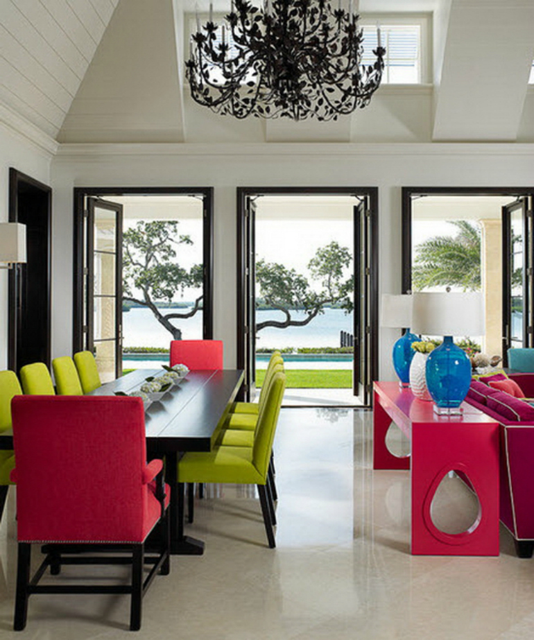 modern chairs modern chairs 8 Spectacular Dining Room Ideas Featuring Modern Chairs 49