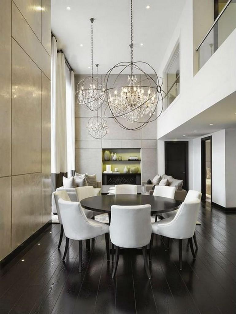 upholstered dining chairs 10 Upholstered Dining Chairs For Your Next Project 99e85373e0430dfc68f4101ab2f2498e