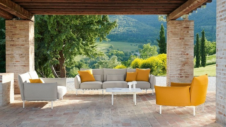 modern chairs Modern Chairs: The Best of Upholstery to Enter the Summer Summer is Coming Here Are Some Oustanding Outdoor Decoration Brands 3