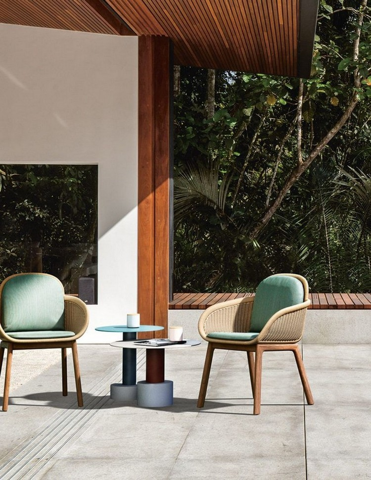 modern chairs Modern Chairs: The Best of Upholstery to Enter the Summer Summer is Coming Here Are Some Oustanding Outdoor Decoration Brands 8