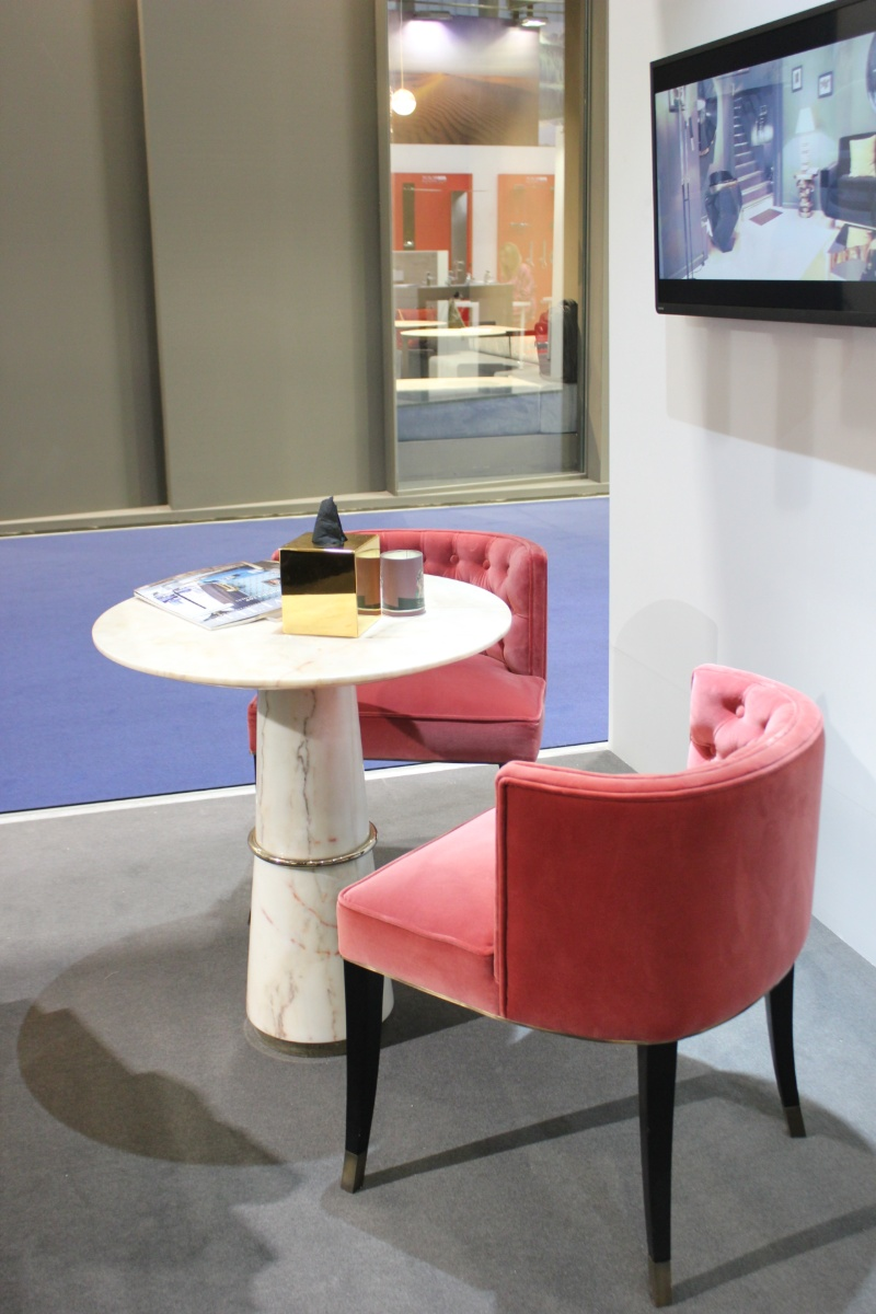 cersaie 2019 Cersaie 2019: A Modern Chair Delight at Maison Valentina Stand Cersaie 2019  A Modern Chair Delight in Maison Valentina Stand 9